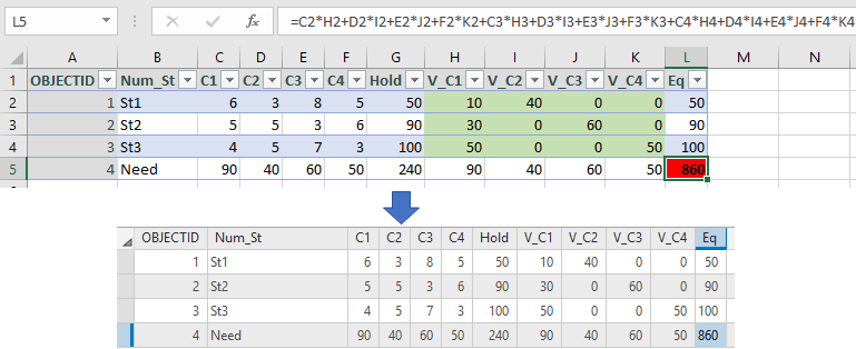 XTools Pro Help - Edit in Excel